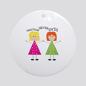Friendship Ornament (Round)